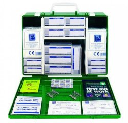 First aid boxes, medium, UK-Standard